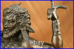 100% Solid Bronze Greek Mythology Centaur Sculpture Statue Made by Lost Wax Art