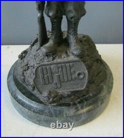 1996 Gi Joe 13 Bronze Statue- Prototype By Randy Bowen- Only 15 Made