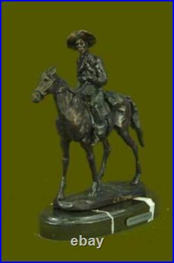 American Hand Made Sculpture Statue Will Rogers By Thomas Western Figurine Gift