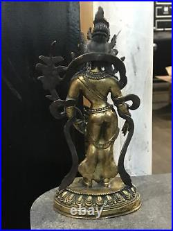 Antique Chinese Bronze Buddha Very Beautifully Made