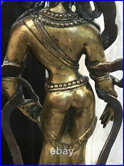 Antique Chinese Bronze Standing Buddha VERY well made