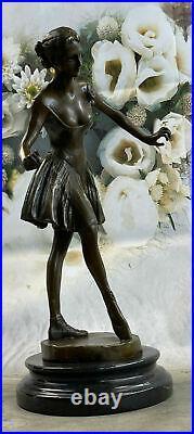 Ballet Dancer Art Sculpture Life Size Bronze Ballerina Figurine Statue Hand Made