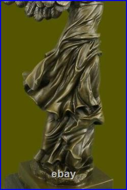 Bronze Sculpture Classic Nike Winged Victory of Samothrace Statue Hand Made Gift