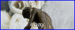 Bronze Sculpture Hand Made Couple Doing PILEDRIVER POSITION Statue Sale Figurine