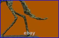 Bronze Sculpture Hand Made Detailed Figurine Large Dog Bronze Sculpture Statue