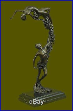 Bronze Sculpture, Hand Made Statue Abstract Signed Original Aldo Vitaleh Figure