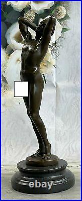 Bronze Sculpture, Hand Made Statue Art Collector Edition Male Men Artwork Deal