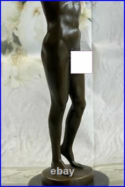 Bronze Sculpture, Hand Made Statue Art Collector Edition Male Men Decoration NR