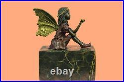 Bronze Sculpture, Hand Made Statue Fairy / Mythical Signed Original Milo Figure