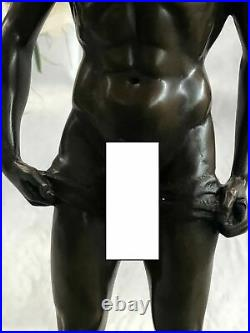 Bronze Sculpture, Hand Made Statue Gay Art Collector Edition Nude Male Gay Sale