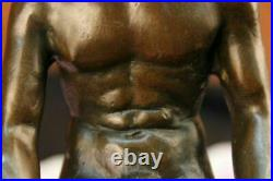 Bronze Sculpture, Hand Made Statue Gay Art Collector Edition Nude Male Hot Cast