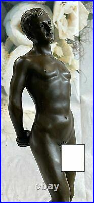 Bronze Sculpture, Hand Made Statue Gay Art Collector Edition Nude Male Men SALE