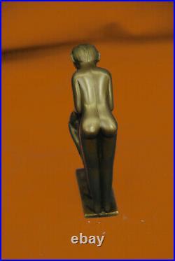 Bronze Sculpture Signed Original Milo Hand Made Figurine Figure Statue Decor Art