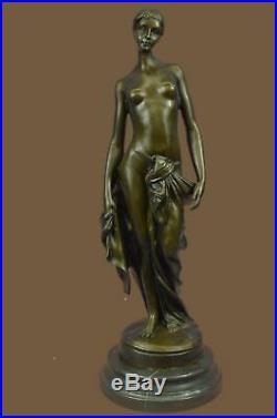 Bronze Sculpture Statue Nude Female Hand Made by Lost Wax Museum Quality Artwork