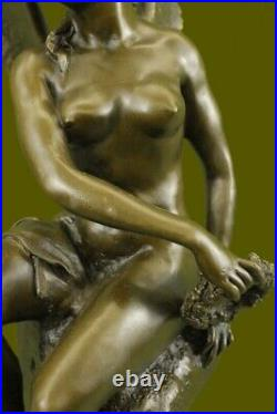 Bronze figur Statue Sculpture Victory of Samothrace Bronze bunt Hand Made Figure