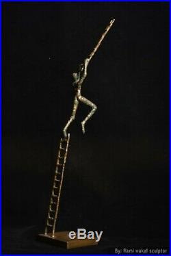 Bronze sculpture made by sculptor Rami Wakkaf