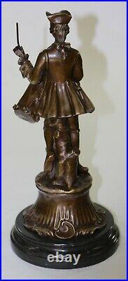 Civil war drummer statue bronze public art sculpture figure Hot Cast Hand Made