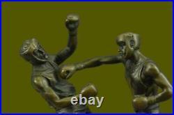 Classic Pose Figural Statue Bronze Made in Europe Sculpture Art Deco Sport Deal