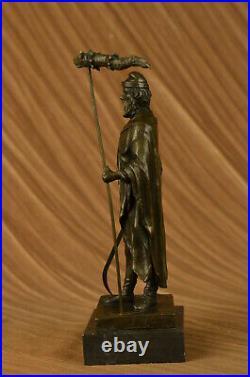 Cronus (Saturn), Father of Greek (Roman) Gods Bronze Sculpture Hand Made Statue