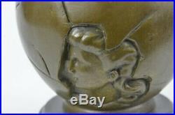 Genuine Bronze Art Deco/Nouveau Hand Made by Lost Wax Method Sculpture Statue