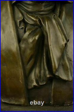 Genuine Bronze Beethoven Art Deco Signed Original Miguel Lopez Hand Made Statue