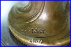 Genuine Bronze Hand Made by Lost wax Method Sexy Female Sculpture Statue Decor