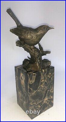 Hand Made Bronze Bird Good Quality Bronze Artwork Sculpture Statue Decor Deal