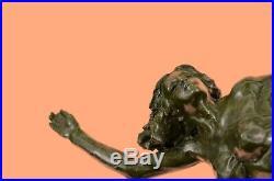 Hand Made Bronze Circus Dancer Dancers Hotcast Figurine Museum Quality Statue