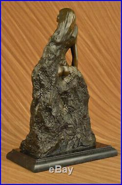 Hand Made Bronze Garden Statues Nude Woman Figure Sculpture Statue Figurine