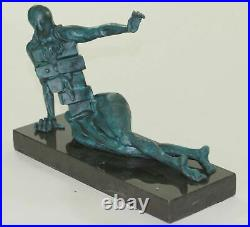 Hand Made Bronze Masterpiece by Salvador Dali Home Office Decoration Statue