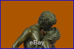 Hand Made Bronze Sculpture Original Aldo Nude Mermaid Mee Statue Figurine Gift