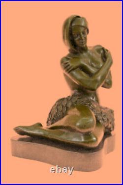 Hand Made Bronze Sculpture Preiss Nude Hawaiian Female Statue Figurine Figure