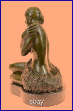 Hand Made Bronze Sculpture Preiss Nude Hawaiian Female Statue Figurine Hot Cast