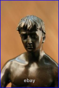 Hand Made Bronze Statue ++ Nude Male ++ Gay Interest ++ VERY RARE ++ Figurine NR