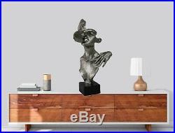 Hand Made First Kiss By Salvador Dali Statue Figurine Bronzed Sculpture Deal