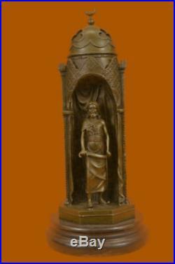 Hand Made Harem By Franz Bergman Hot Cas Statue Figurine Bronze Sculpture EX
