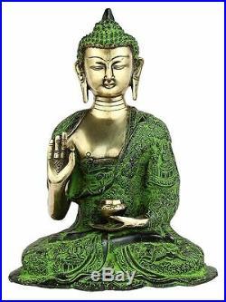 Hand Made Life Story Bronze Brass Buddha Statue Chinese Tibet Buddhism 11