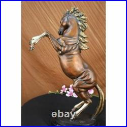 Hand Made Muscular Toned Horse Animal Art Statue Figurine Bronze Sculpture GIFT