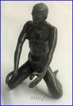 Hand Made Museum Quality Sexy Art Work By Mavchi by Lost Wax Method Statue Art