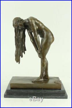 Hand Made Quality Aldo Vitaleh Art De Statue Figurine Bronze Sculpture Hot Cast