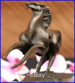 Hand Made Roman Horse Figurine by MILO Figurine Decor Bronze Sculpture Statue