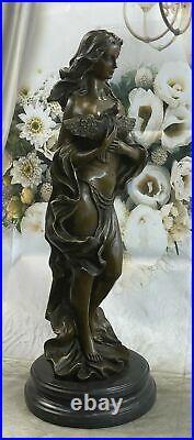 Hand Made Signed Original Artwork by Italian Artist Aldo Vitaleh Bronze Statue
