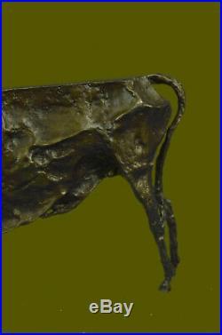 Hand Made Statue Modern Abstract Art Bull By Picasso Hot Cast Bronze Sculpture