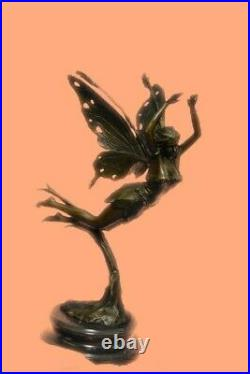 Hand Made Venus Goddess of Love Bronze Sculpture Statue Art Figurine Cesaro GIFT