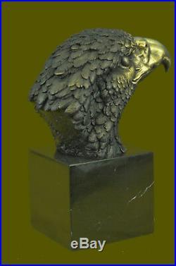 Hand Made Vienna Bronze American Bald Eagle bronze Sculpture Statue Hot Cast Art