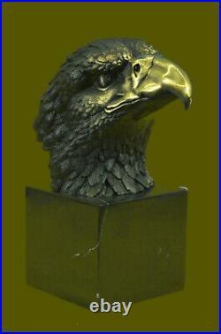 Hand Made Vienna Bronze American Bald Eagle bronze Sculpture Statue Lost Wax Art