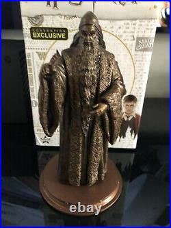 Harry Potter Bronze Albus Dumbledore Statue. Convention Exclusive. Only 300 Made