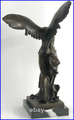 Hot Cast Detailed Hand Made by Lost Wax Method Nike Bronze Sculpture Statue Sale