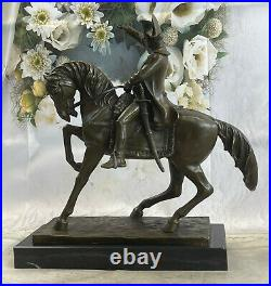 Hot Cast Genuine Pure Bronze Hand Made Classic Napoleon Bonaparte Bronze Statue