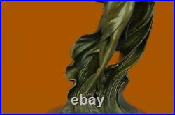 Hot cast Hand Made Museum Quality Classic Bronze Artwork Art Nouveau Statue Sale